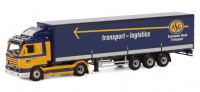 "WSI KA Klippan ""ASG"" SCANIA 3 STREAMLINE 4x2 CURTAINSIDE TRAILER"